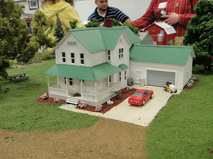 1000 images about 1 64 farm toys on pinterest models for Farm house model