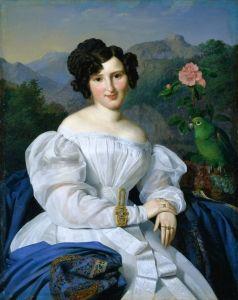 Countess Széchenyi - Ferdinand Georg Waldmüller, 1828