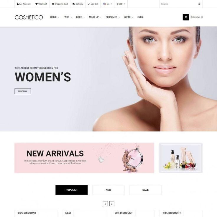 #Cosmetic #Perfume Theme #PrestaShop #templates #theme #Addons #Shop #Ecommerce #Prestapro