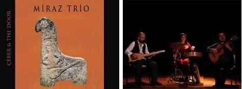 Miraz Trio, Çeber & The Door adlı ilk albümü ile cafrande.org'ta