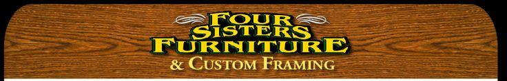 Unfinished furniture Four Sisters Furniture Ogden Riverdale Utah UT