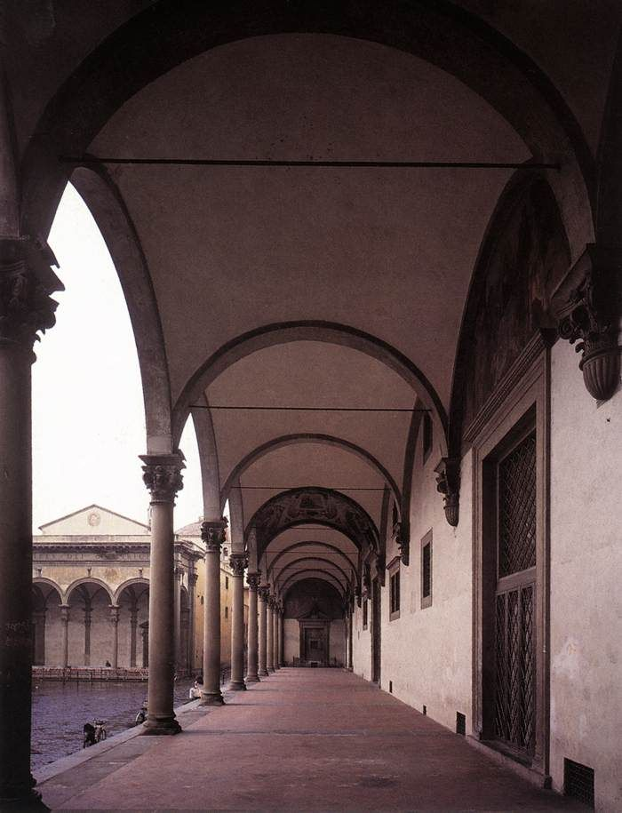 Loggia 1419-26 | Ospedale degli Innocenti, Florence | Filippo Brunelleschi