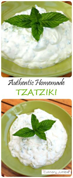 Tzatziki is one of my favourite dips and so easy to make. Using creamy Greek yoghurt, this authentic recipe can be created in no time and spice up any BBQ or picnic!