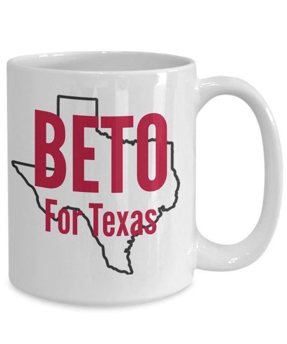 Beto for texas coffee mug beto orourke campaign