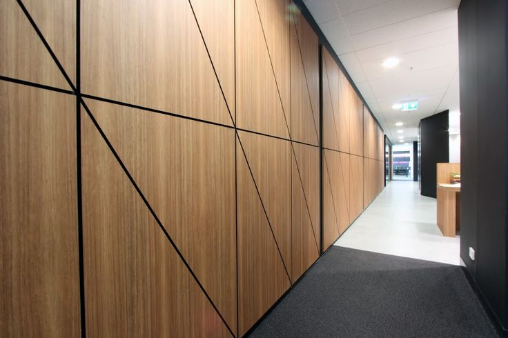 Navurban™ Byron Blackbutt ACU project amazing panelled wall feature
