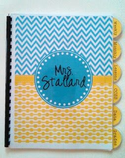 The Organized Teacher {Editable Planners} from Teach It With Class