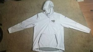 BUY NOW: Authentic Nike NFL LA RAMS ONFIELD JACKET WHITE Size Medium with Tags at ebay Store: CharlesToysTech!