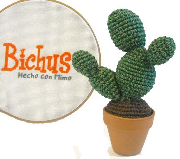 Bichus Amigurumis: Patrón Gratis - Cactus Amigurumi