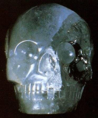 \\Max\\, il teschio di cristallo di proprietà di JoAnn e Carl Parks, di Huston, in Texas.