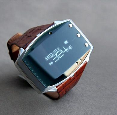 I generally dislike digital - but this one is kind of cool ...  Seiko Bluetooth Watch