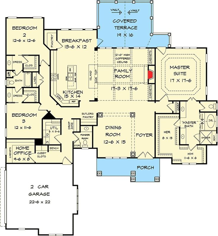 626 best house plans images on pinterest | dream house plans