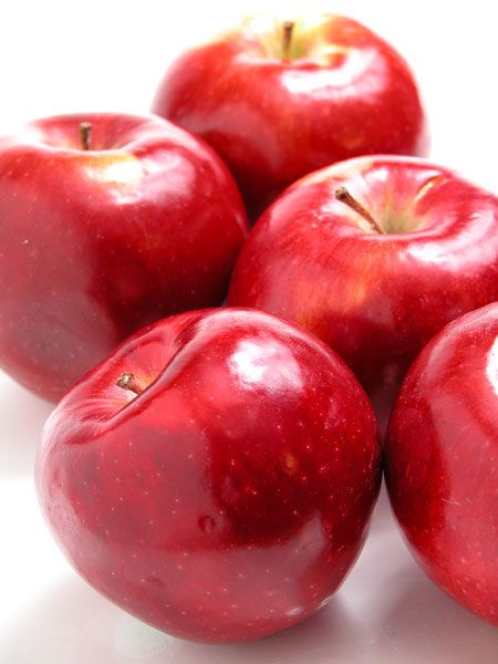 healing foods: red apples