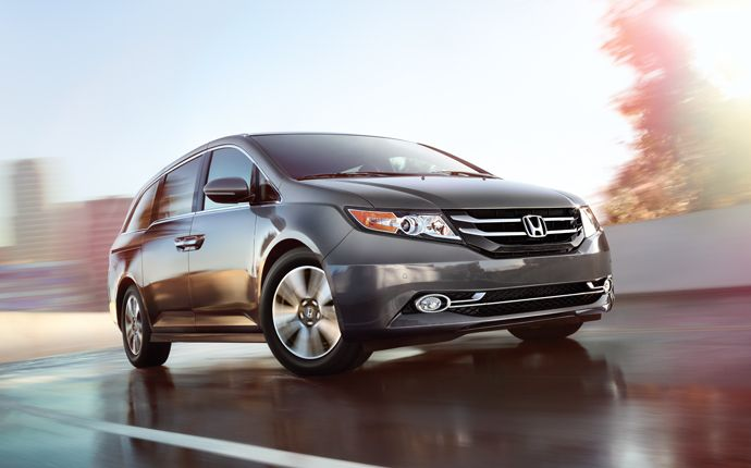 A smooth, quiet ride and a confident feel on the highway make the Odyssey the perfect getaway vehicle.
