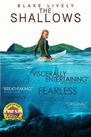 The Shallows, Movie on DVD, Drama Movies, Suspense