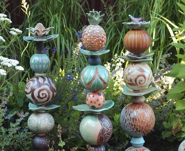 Concrete art for the garden google search garden ornaments pinterest keramik t pferei - Keramik ideen ...