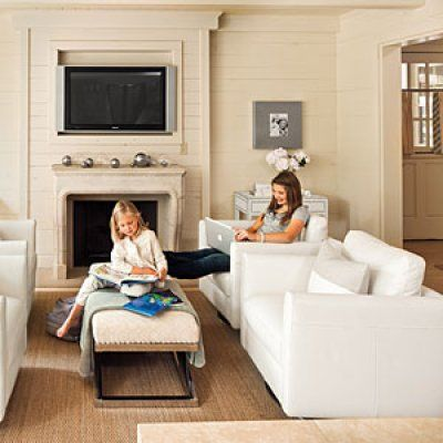 101 best family living images on pinterest living room for Southern living keeping room ideas