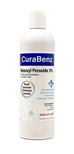 #1 Benzoyl Peroxide Shampoo, Effective for Mange, Demodex, Dandruff, Seborrhea, Pyoderma, Mites & Acne, Penetrates Deep Removing Excess Oil & Debris, Broad Spectrum Formula, Satisfaction Guarantee by Bexley Labs, http://www.amazon.com/dp/B01LYOYA0M/ref=cm_sw_r_pi_dp_x_XPpDzbKS5XH4P