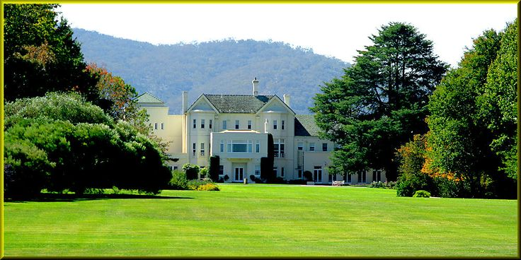 Yarralumla House Governor General of Australia