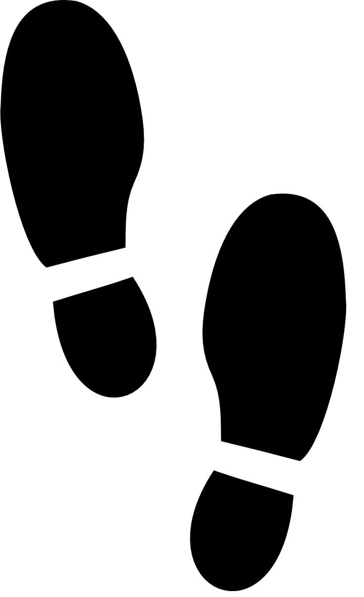 best feet images on pinterest footprint clip art and mural painting