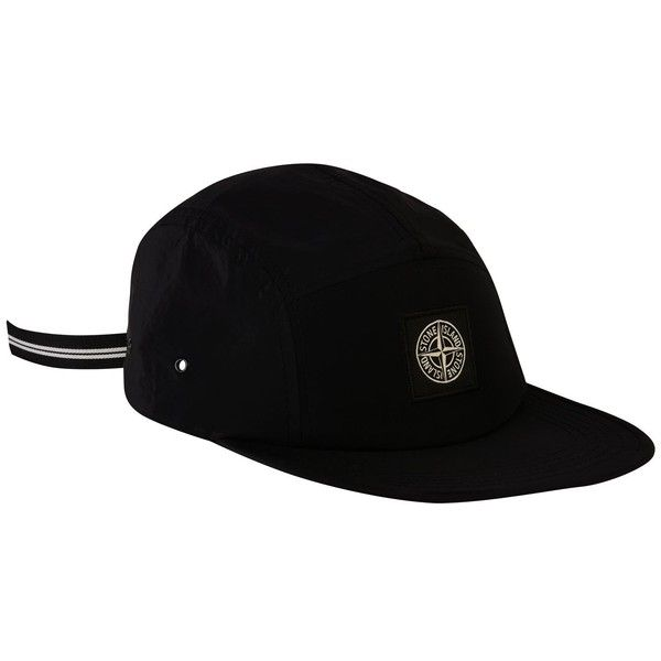 STONE ISLAND Nylon Badge Cap ($120) ❤ liked on Polyvore featuring accessories, hats, nylon cap, nylon hat, stone island cap, strap hats and adjustable hats