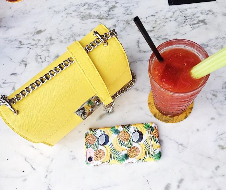 Banana Coconut by @juliawassberg - Fashion case phone cases iPhone inspiration iDeal of Sweden #banana #coconut #accessories #phonecase #summer #iphone #palmtress