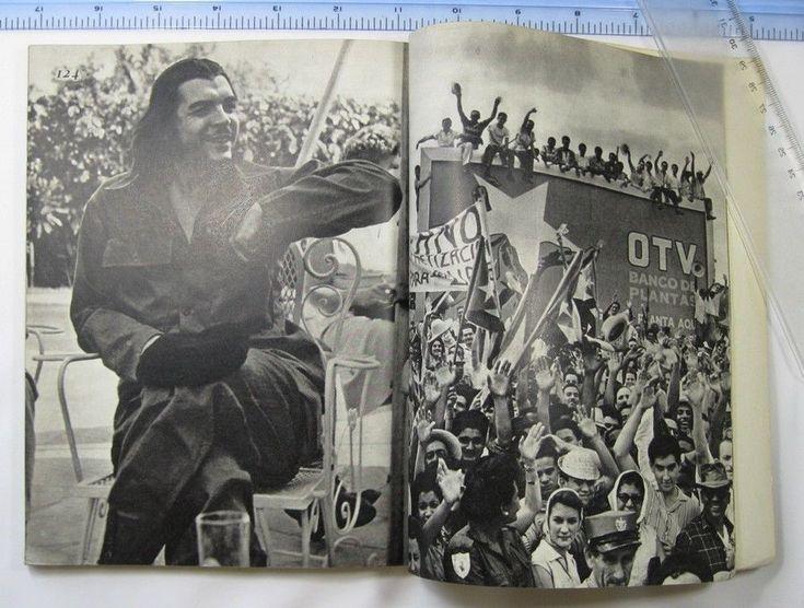 Communist CUBA Che Guevara USSR photos Fidel Castro PHOTO ALBUM soviet