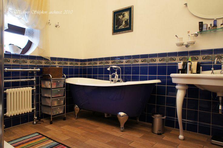 Ванна. Interior. Apartment.