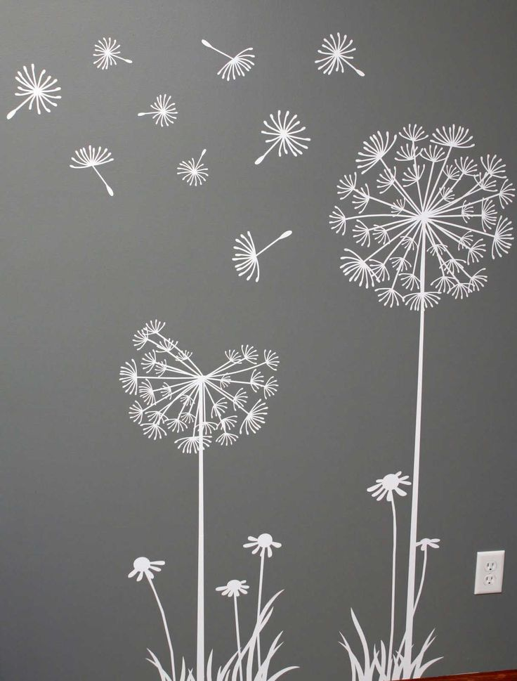 superb white wall stencils - Bedroom Stencil Ideas