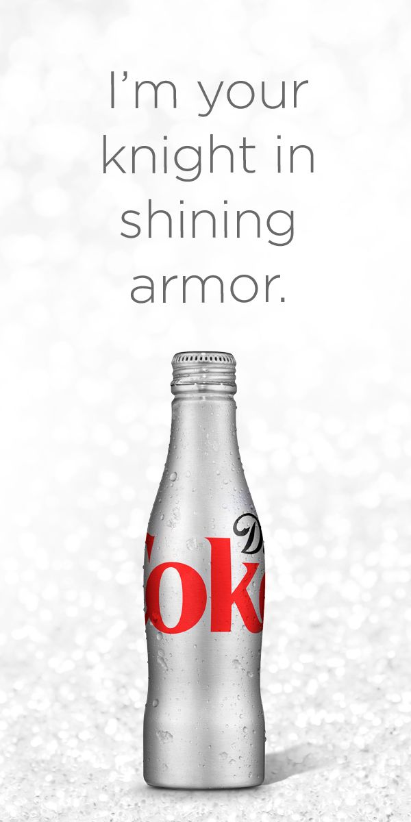 Diet Coke: Love at first sip.