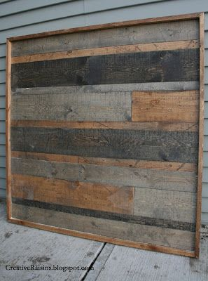 wood boards different stains old barn look