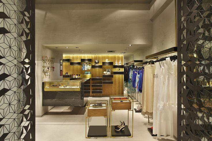 Design de interiores, projetos comerciais. Loja Afghan, Shopping Nova América - 2014. Retail - Shop Spaces - Rio de Janeiro.