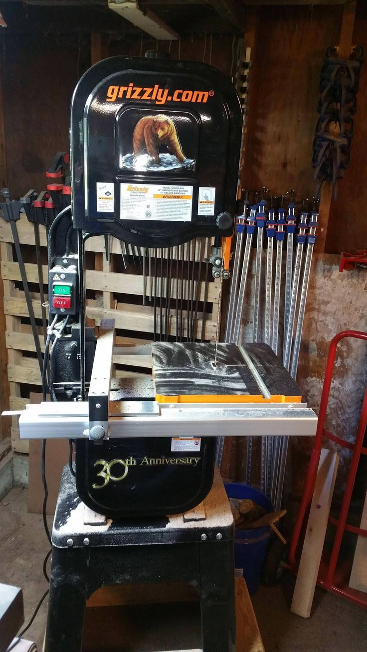 Hands down the best bang for your buck upgrade I've ever made. Added a 6in riser to my 14in grizzly bandsaw for a total of 12in resaw height. http://ift.tt/2tXy8zn