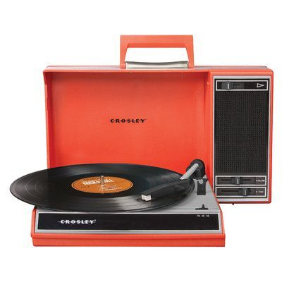 Crosley Spinnerette USB Turntable Color: Red
