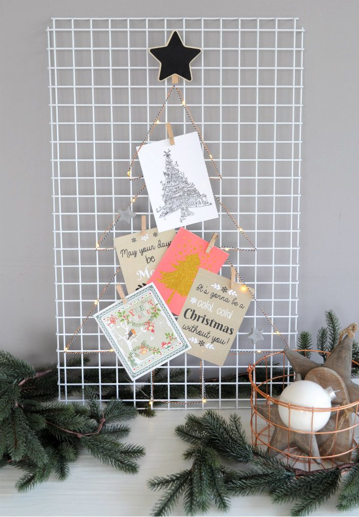 17 beste afbeeldingen over kerst creatief diy christmas op pinterest kerstversieringen - Wandrek ijzeren ...