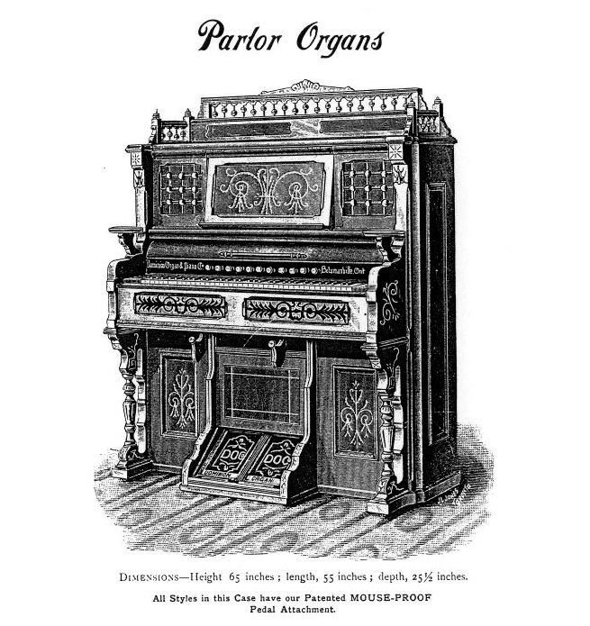 Dominion 1891 - 1M Parlor Organ