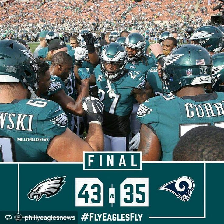 THE EAGLES ARE THE 2017 NFC EAST CHAMPIONS! Carson Wentz went down with a knee injury and it does not look good folks. But Im incredibly impressed the way this team kept their composure and really stepped up for their quarterback. I truly believe Nick Foles can handle this we have to put our trust in him. And the defense in the final 10 minutes stepped up to seal the game. I understand theres a reason to be upset but this team has the first seed and has just won the division. 11-2…