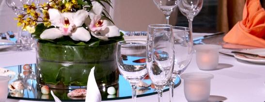 Ocean View Banquet - Wedding Setup. The Westin Resort, Guam