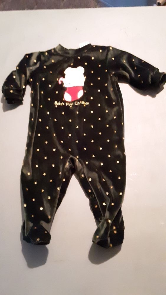 Baby Girls FIRST CHRISTMAS Outfit--Size 3 to 6 months--Beautiful