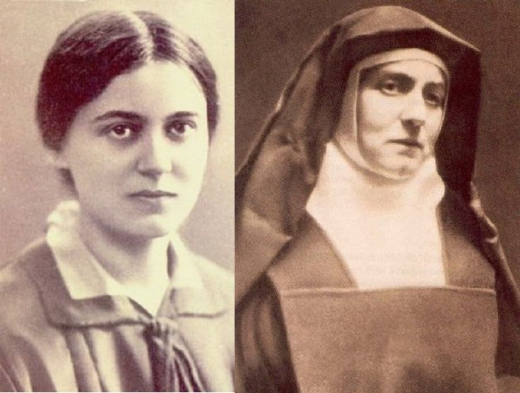 Edith Stein - now St. Teresa Benedicta of the Cross