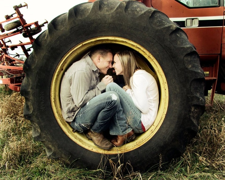 Couple On Tractor : Best images about photography couples on pinterest
