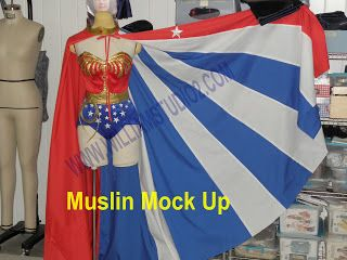Sewing Cafe: Wonder Woman-Cape