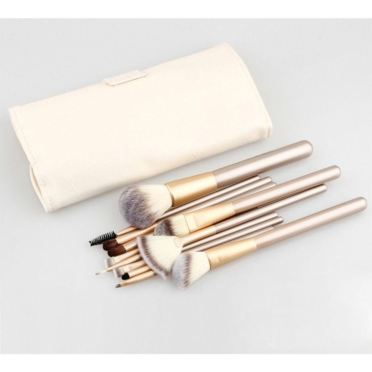 New to the show: 24 PIECE CHAMPAGN.... Buy online now http://get-it-4-me.myshopify.com/products/24-piece-champagne-gold-makeup-brush-set?utm_campaign=social_autopilot&utm_source=pin&utm_medium=pin