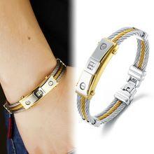 fashion 316L stainless steel men women bracelets AAA cubic zirconia bracelet for gift accesories jewelry GH756 wholesales //FREE Shipping Worldwide //