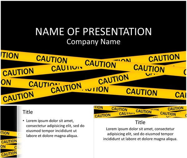 15 best general powerpoint templates images on pinterest caution ribbon powerpoint template templateswise toneelgroepblik Gallery