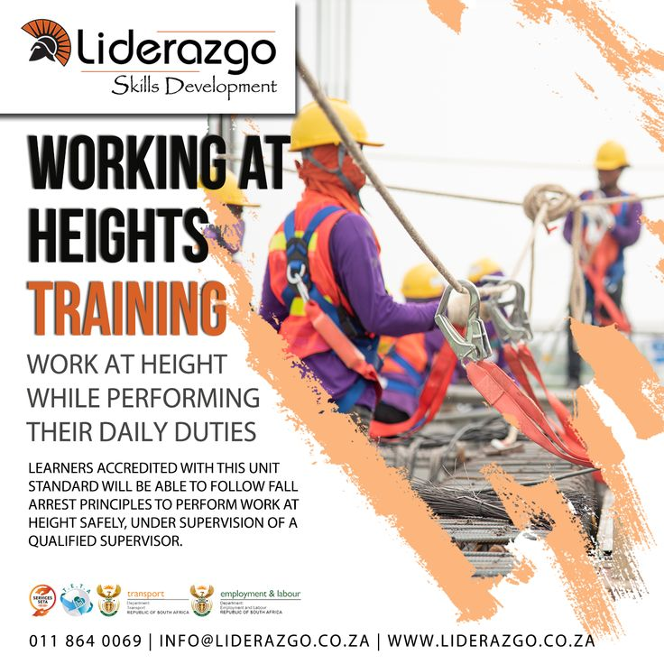 Working at Heights Occupational Health and Safety act 85