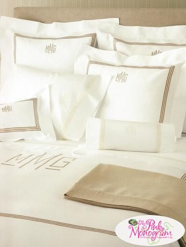 78 best matouk monogrammed bedding and bath images on pinterest