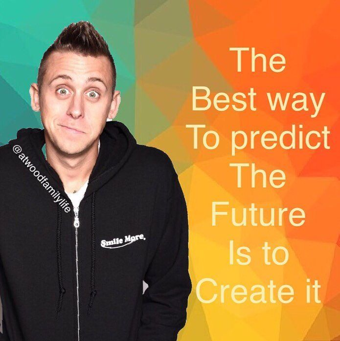 The best way to predict the future is to create it. #inspirationalquote…