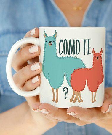 'Como Te Llamas' Mug