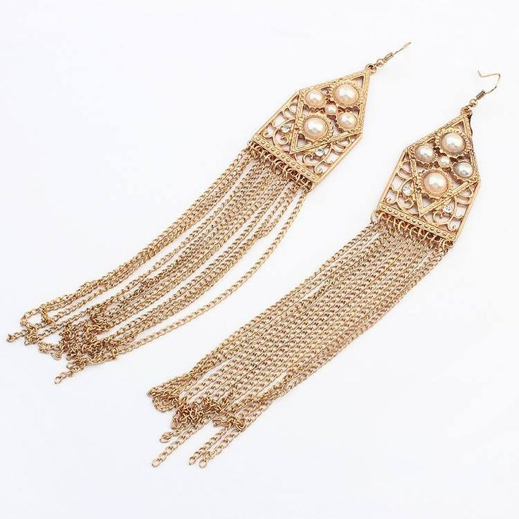 Fringe earring designed probably with a party in mind but we see no reason they couldnt be worn for mundane events as well!! Soon available in our online shop: www.misha.tn #tunisie #shopping #accessoire #mode #trendy #MISHAxME