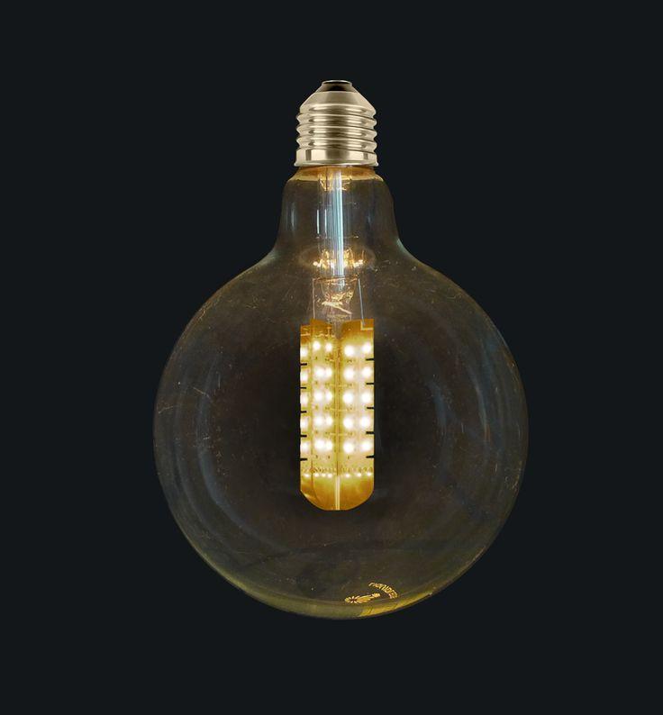 Our new 9W G125 LED Light bulbs 2200K